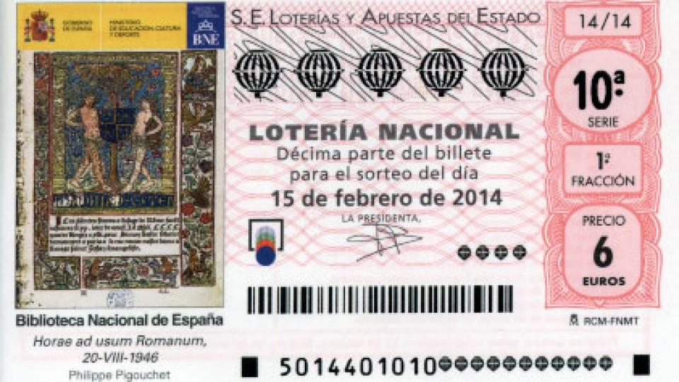 S14_150214 – Decimo Loteria Nacional del Sabado