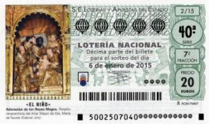 """Imagen Décimo Loteria Nacional """"EL Niño"""""""