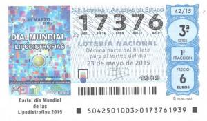 Segundo Premio de Loteria Nacional en esta Administración 23-05-2015
