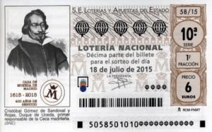 S58_180715 - Imagen Décimo Loteria Nacional