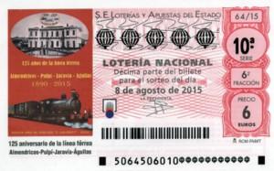 S64_080815 - Imagen Décimo Loteria Nacional