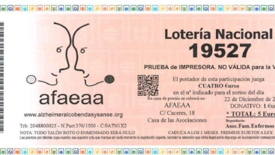 Navidad 2018-Asociación familiares enfermos Alzheimer Alcobendasy San Sebastián de los Reyes (AFAEAA)